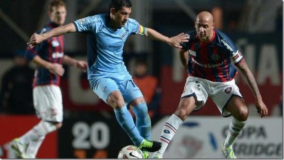 Bolívar enfrenta en La Paz a San Lorenzo (1-0) en el partido de vuelta de la semifinal de la Libertadores 2014