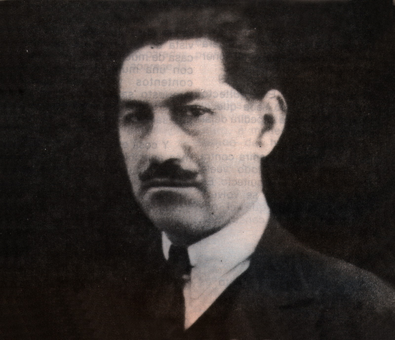 Emilio Villanueva arquitecto proyectista del estadio