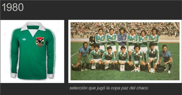 Las Camisetas de la Selección Boliviana  f8c7474716c