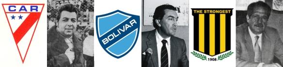 José Saavedra presidente de Always Ready, Mario Mercado presidente de Bolívar y Rafael Mendoza presidente de The Strongest, impulsaron la creación de la Liga. Su decisión fue fundamental para el nacimiento de la nueva entidad del fútbol profesional.