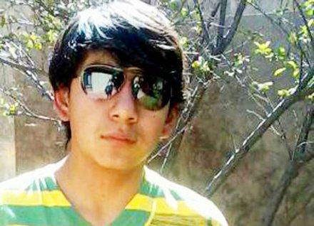 Kevin Beltrán, el joven hincha de los santos que murió víctima de un cohete pirotécnico lanzado por la hinchada del Corinthians.