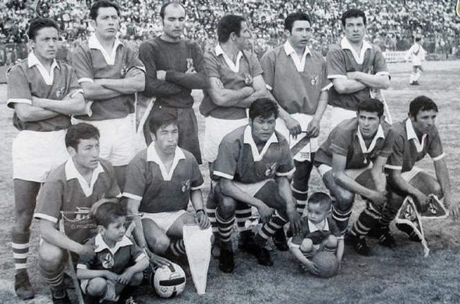 El 'Tanque' Díaz, centro delantero de la Selección Nacional de 1969