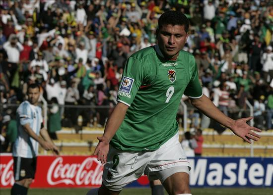 Joaquín Botero, máximo artillero de la selección en La Paz
