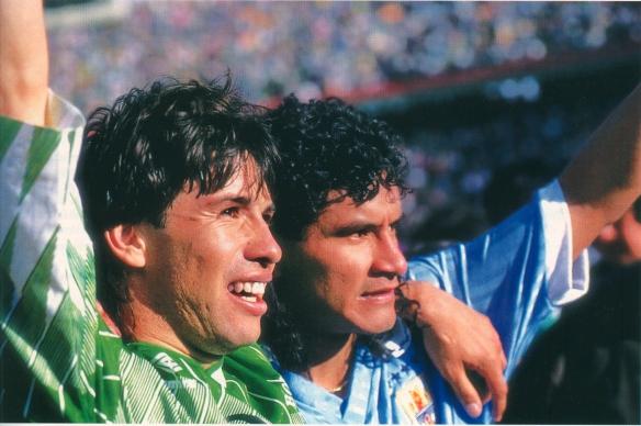 Sánchez y Etcheverry, dos estrellas rutilantes de la selección en el 93