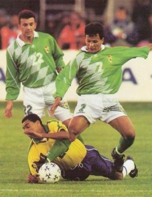 """La Copa América que debió ser de Bolivia. Enfrente estaba uno de los mejores equipos que Brasil tuvo nunca. Baldivieso y S. Castillo enfrentando al """"scratch"""""""