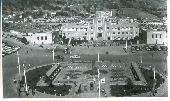 El viejo estadio Hernando Siles inaugurado en 1930. Allí debutó Bolivia ante Chile en 1950