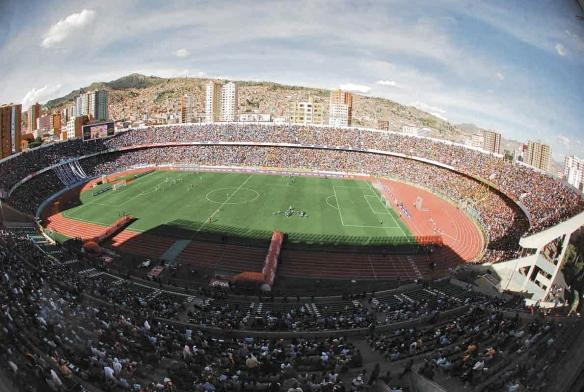 Imagen del nuevo Siles, inaugurado en 1977. Bolivia jugó su primer partido en este campo ese mismo año frente a Hungría.