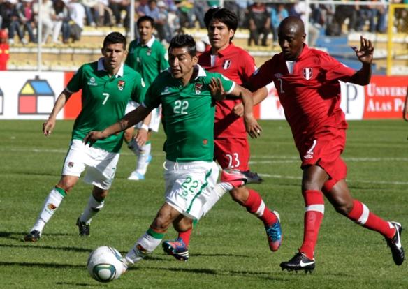 Perú no ha ganado nunca un partido en La Paz. es, junto a Uruguay y Venezuela, de las selecciones con peor desempeño en el Siles