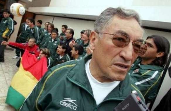 Ramiro Blacutt, el DT que más veces dirigió a la selección en La Paz