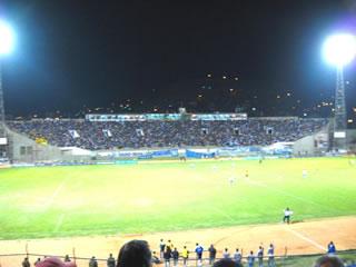 La idea de darle protagonismo a los clásicos regionales, fue muy exitosa. Se lograron estadios llenos y buenas recaudaciones. En la foto el Félix Capriles antes del Wilstermann-Aurora