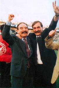 Loayza y Azkargorta, dos de los artífices de este éxito histórico.