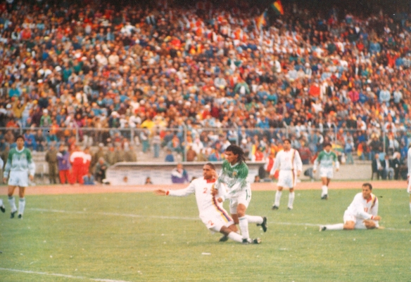 El festival de goles en La Paz