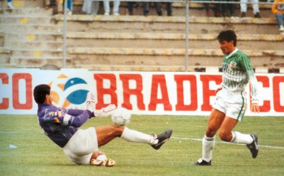 La máxima goleada boliviana en la historia de la eliminatoria mundialista