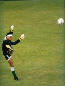 Carlos Leonel Trucco, leyenda en el arco boliviano.