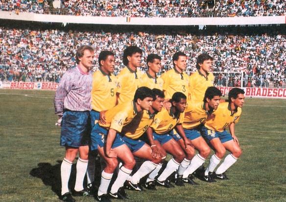 Esta selección (que ganaría el Mundial de 1994), perdió un invicto de 40 años en Eliminatorias a manos de Bolivia.