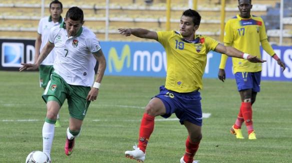 Bolivia 1 Ecuador 1