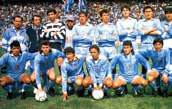 Quizas la mejor alineación bolivariana de la historia. Dominador en los años noventa. Bolívar es el equipo con más títulos nacionales.