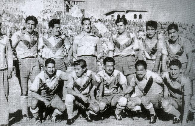 San José que obtuvo el título de 1955, fue el primer equipo no paceño en lograr un campeonato nacional.