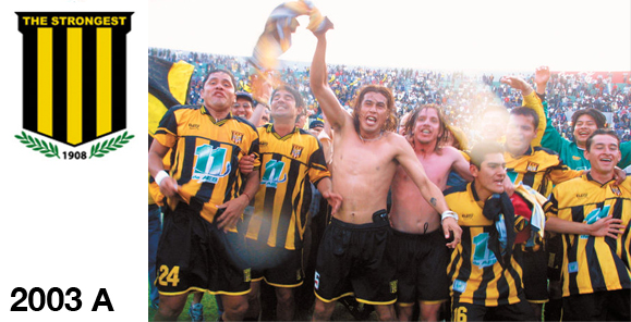 2003 A the strongest cameón 03