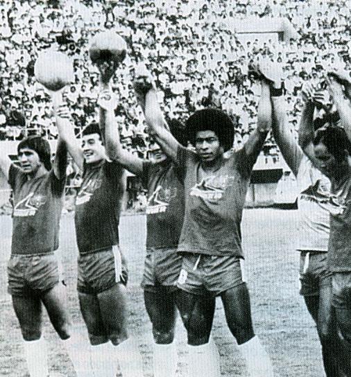 Los rojos fueron los primeros en pasar la barrera de la Fase de Grupos. Fue en 1981, de la mano del mundialista Jairzinho.