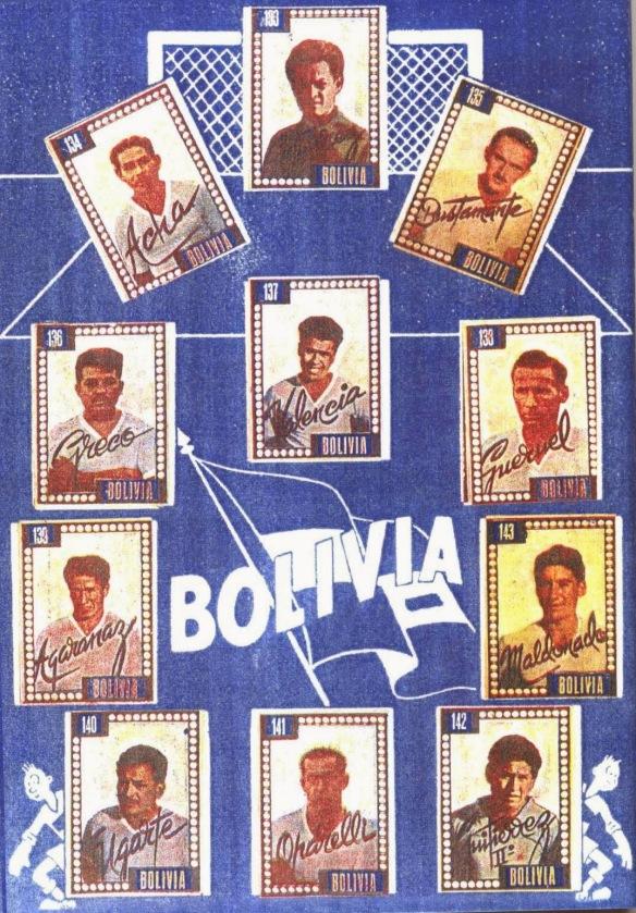 13. BOLIVIA 1950