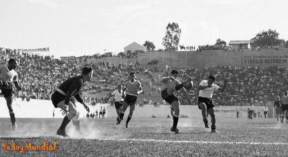 BRASIL 1950 (URUGUAY 8 - BOLIVIA 0)