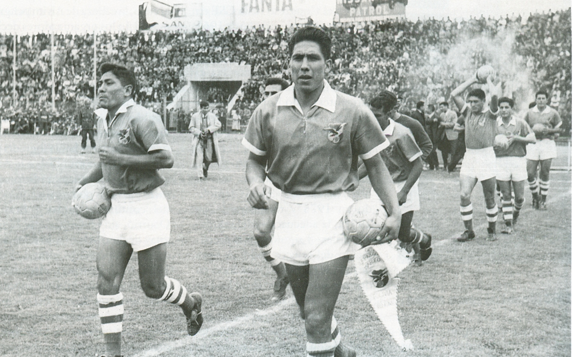 Bolivia Campeón Sudamericano 1963
