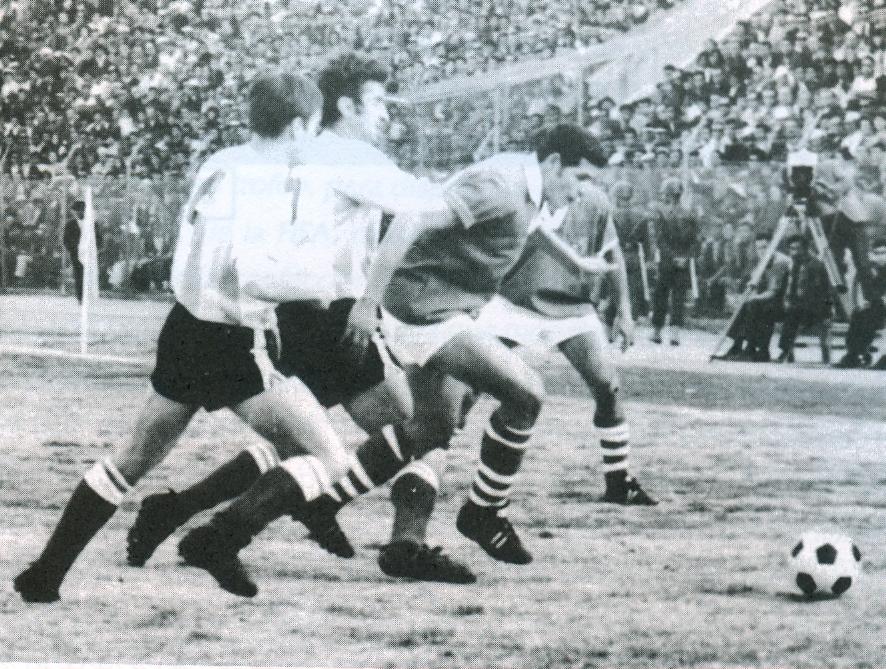 Bolivia en las eliminatorias de 1969, estuvo a un punto de clasificar