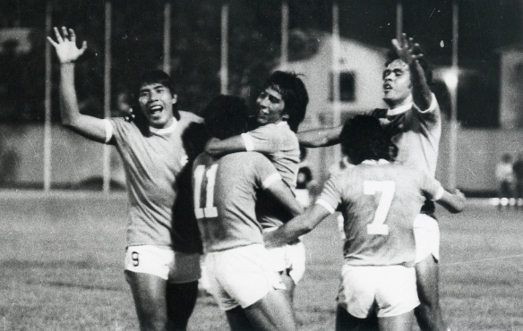 Bolivia tuvo una impecable participación en la primera ronda eliminatoria de 1977