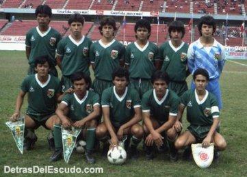 Uno de los éxitos mayores de la historia de nuestro fútbol. Campeones Sudamericanos Sub-16 (1986)