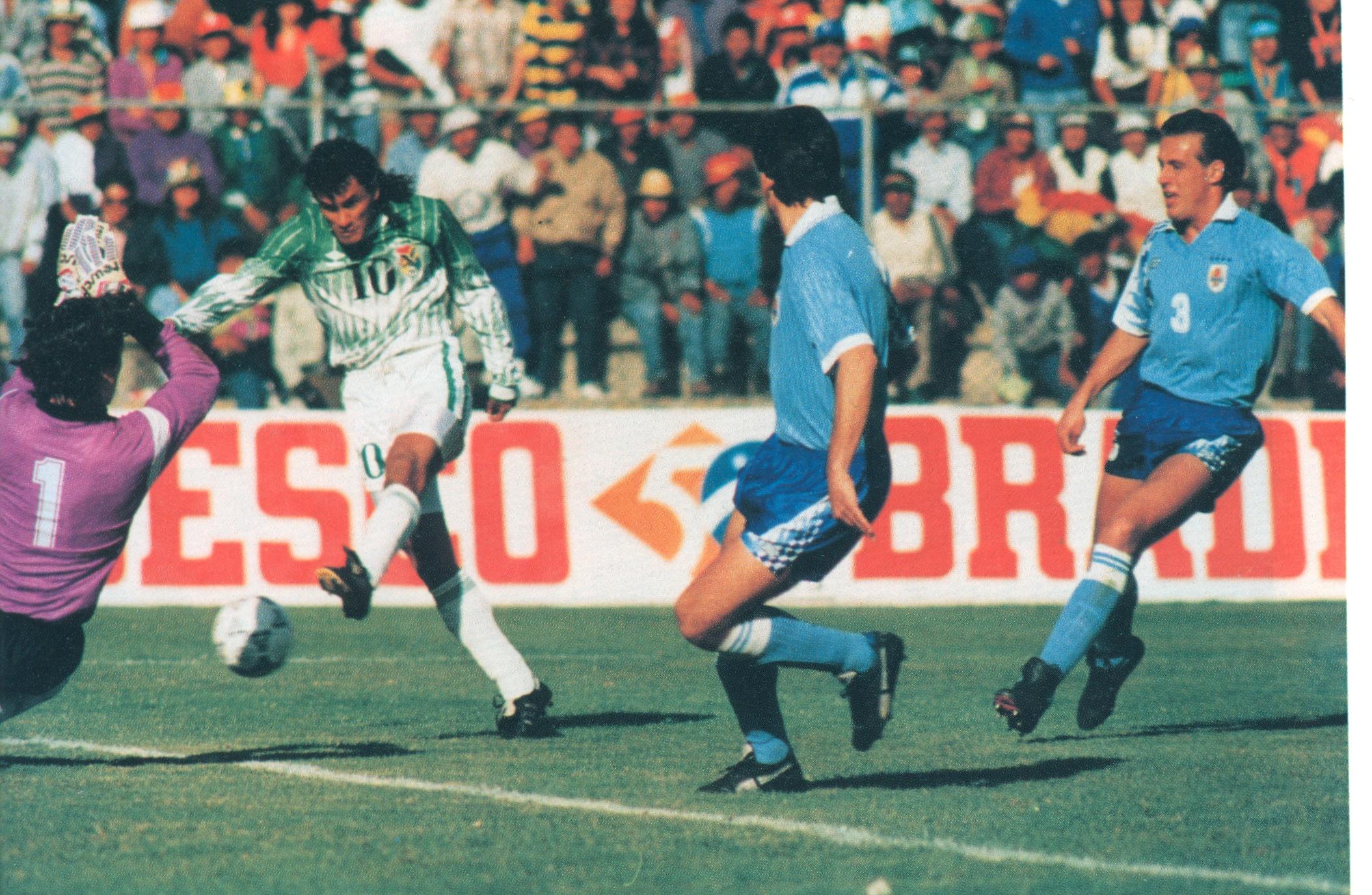 Historia. Bolivia al Mundial, tras una campaña casi impecable. (1993)