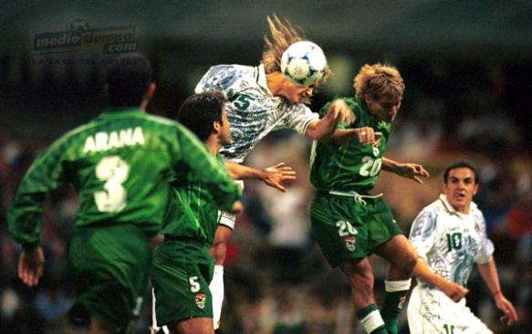 Bolivia jugó la Copa Confederaciones en 1999, en su calidad de subcampeona de América