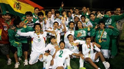 Bolivia logró el oro en los Bolivarianos disputados en Sucre en 2009