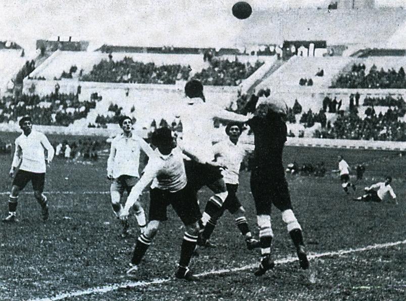 Bolivia debutó en el primer campeonato Mundial de la historia en Uruguay en 1930