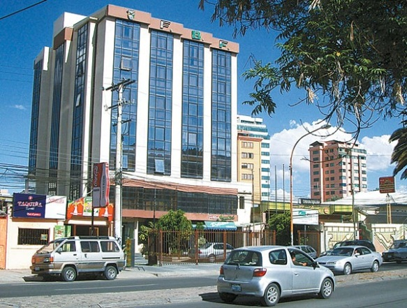 Edificio de la FBF en Cochabamba