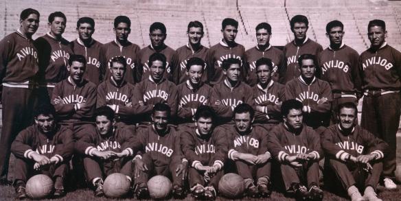 Selección Bolivia 1963, campeona de América y la que tiene un mayor número de puntos y mejor promedio de todas las selecciones nacionales que participaron en la Copa América