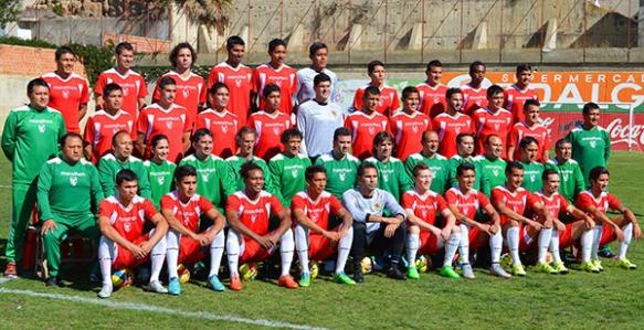 5 de octubre (AFKA) La Paz.- Fotografía oficial de la Selección Boliviana de Fútbol, en donde se incluye a la plantilla oficial de los jugadores y la dirección técnica. Fotos:FBF