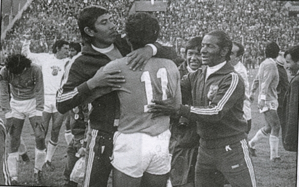 bolivia 1977 10 eliminatorias vs uruguay