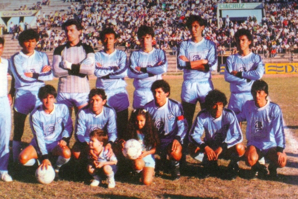 bolívar 1987 campeón 01