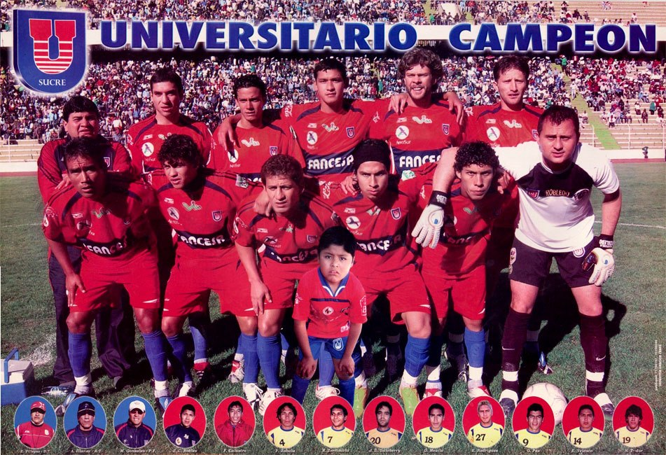 boliviano universitario sucre 2008 campeones