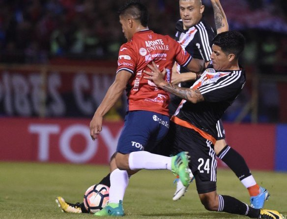 pérez vs wilstermann 2017