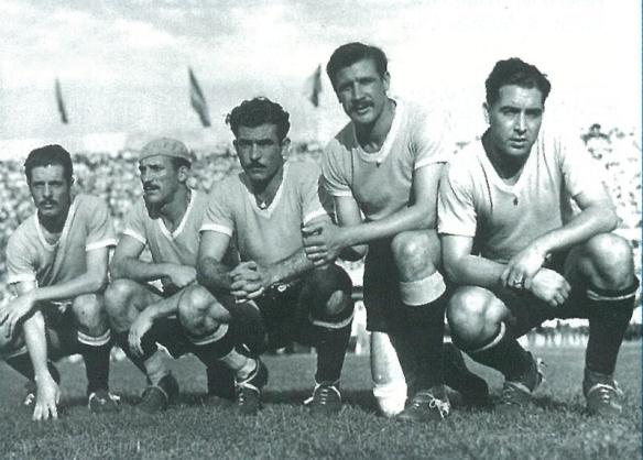 delanteros-uruguay-1945